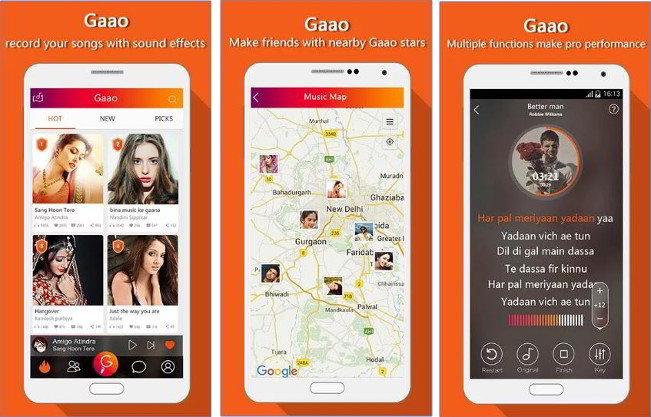 gao - best free Karaoke apps