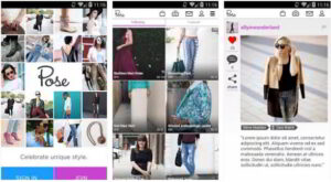 pose - top apps for teenage girls and women