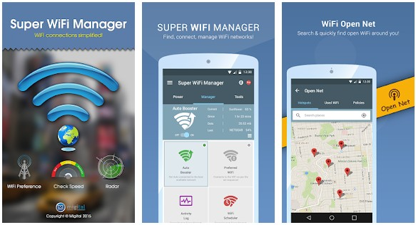 Super WiFi Manager