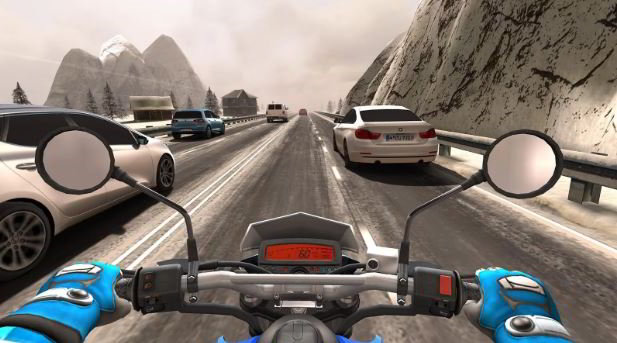 traffic rider bike racing games for Android