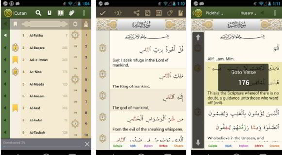 iQuran lite - best quran apps for Android and iPhone