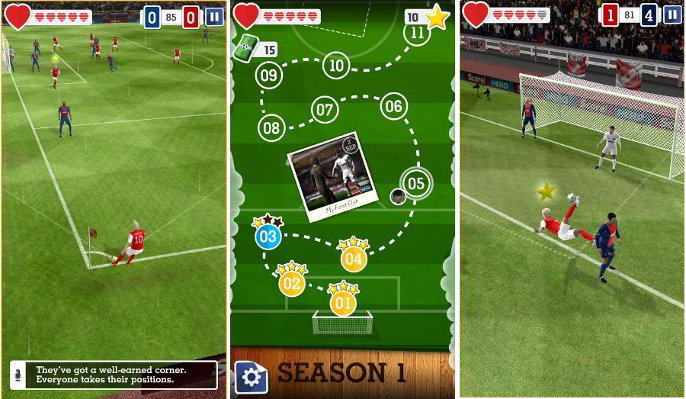 Score Hero Best Soccer Games For Android And Iphone