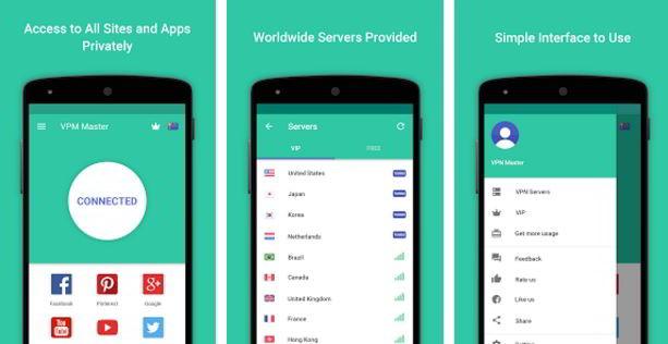 VPN master app 2016