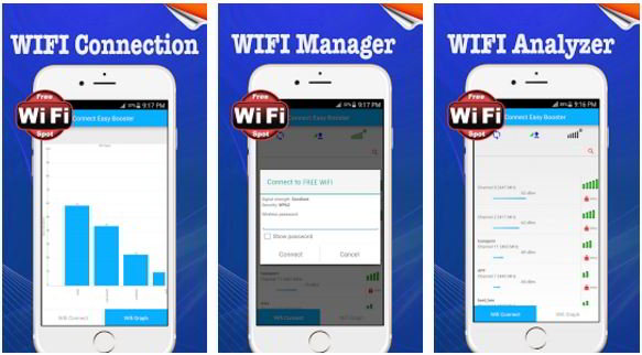 wifi connect easy booster app for Android