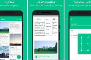 gnotes - free Android notes app