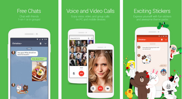 line messenger : best apps similar to Kik 2017