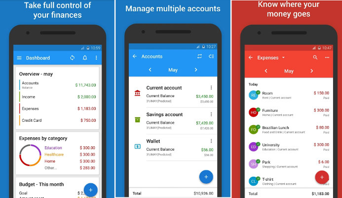 mobills - best budget app track expenses and spending on Android