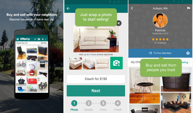 offerup : apps similar to Craigslist
