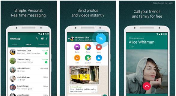 whatsapp messenger - best apps like kik 2017