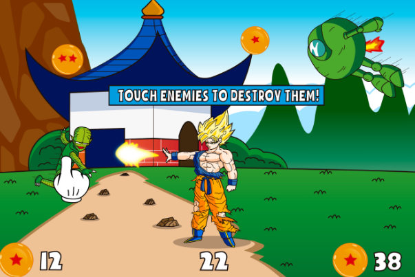 Dragon Ball Z game Android