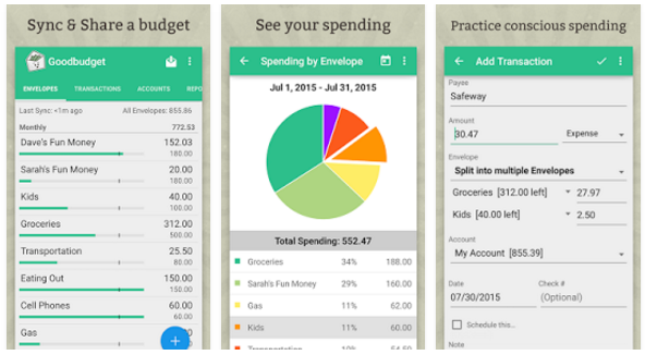 good budget app android 2016