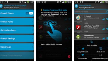 mobiwall firewall app for Android