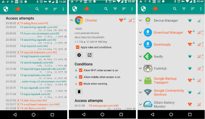 netguard - best Android Firewall Apps for 2017