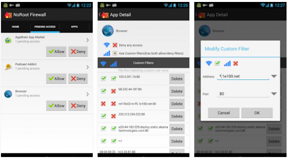 no root firewall app for Android