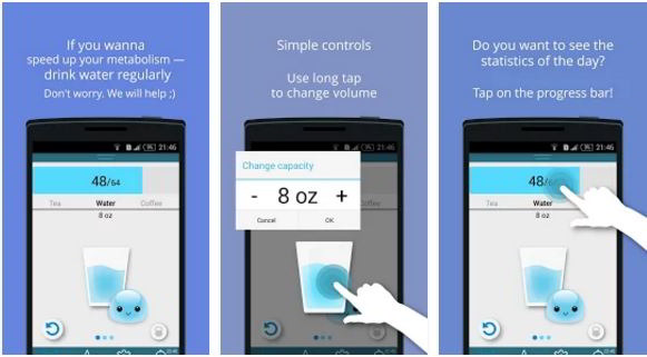 water time pro Android app