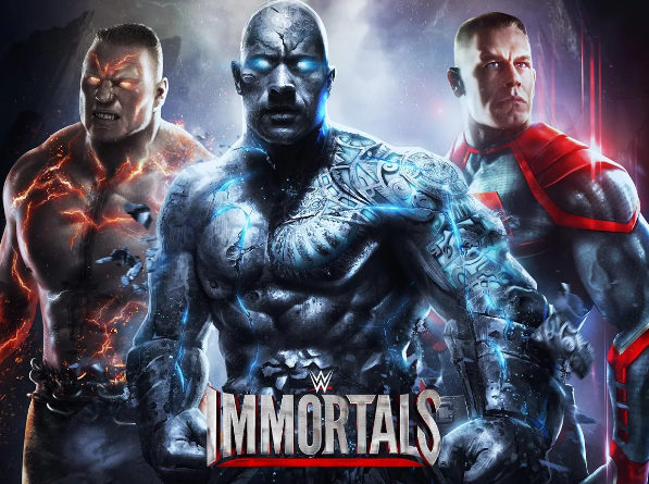 wwe immortals - best Android fighting games 2017