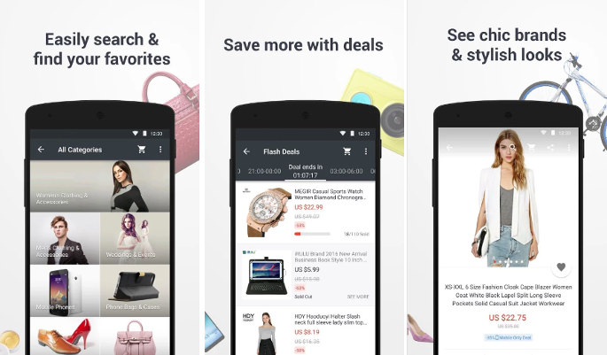 Aliexpress - best apps like Wish shopping made fun