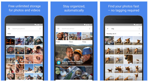 google photos app free download
