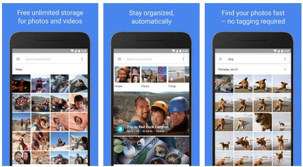 google photos app free download