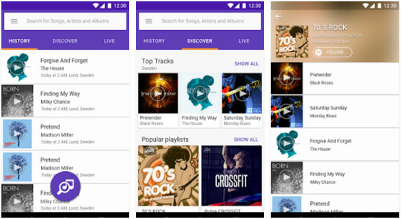 sony trackid top music recognition apps 2016