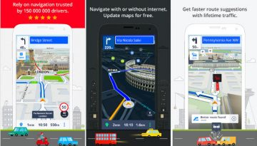 sygic best gps app for Android and iPhone