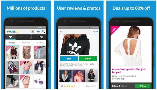 Wanelo - best apps like wish