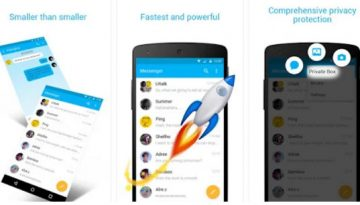 Zero - best sms apps for Android