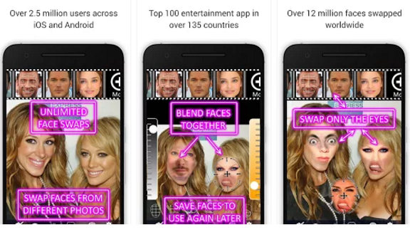 face swap booth Android app