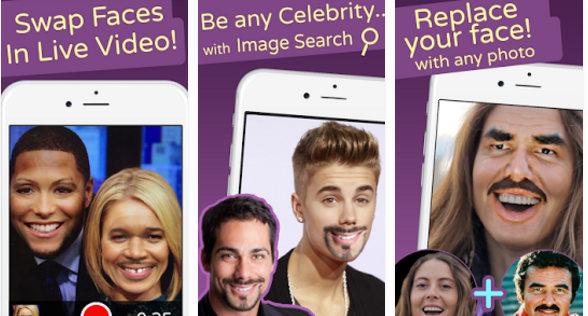 face swap live app