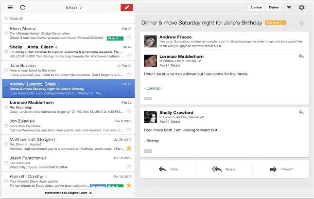 gmail offline - best chrome OS apps