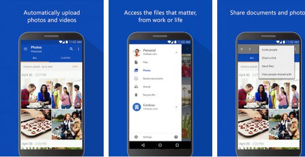 microsoft onedrive - best free cloud storage apps 2017