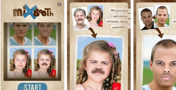 mix booth : Best face swap app like MSQRD