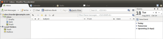 mozilla thunderbird - best email client app for Windows 10