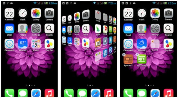 Best iPhone Launcher apps for Android to have IOS-like home