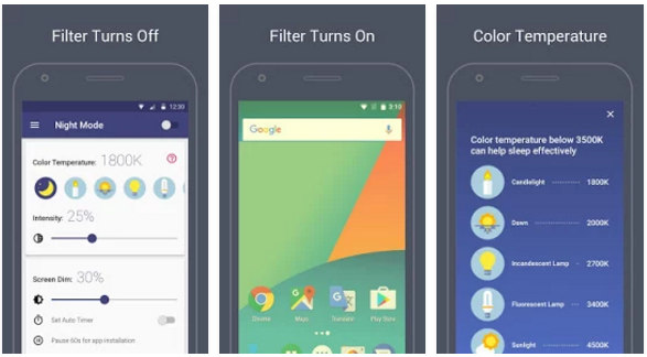 best bluelight filter apps