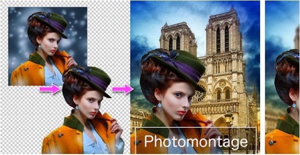 PhotoLayers app