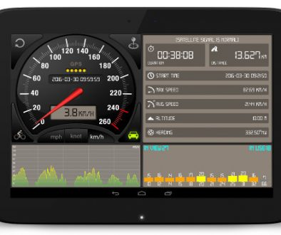Android speedometer gps