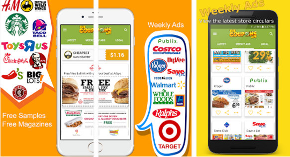 coupons app for Android