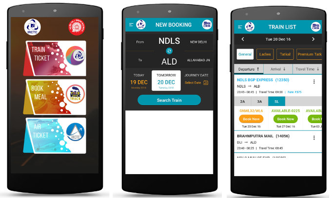 IRCTC Rail Connect app download