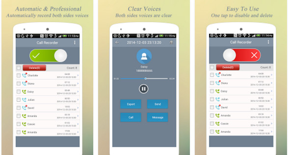 Super Call Recorder app for Android