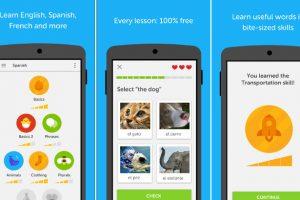 duolingo - best app to learn english spanish languages