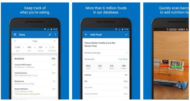 Calorie Counter health app