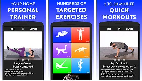 Daily Workouts app