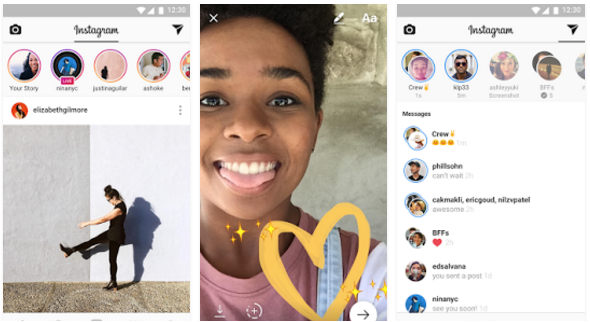Instagram - apps to create videos from photos