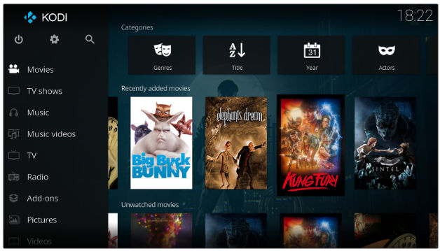 Kodi - best Android TV apps