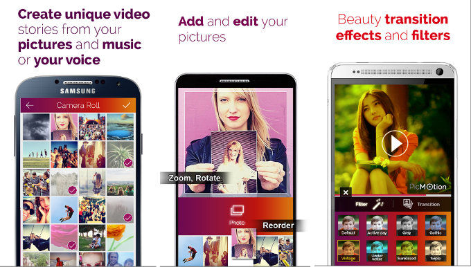 PicMotion - best app like Flipagram
