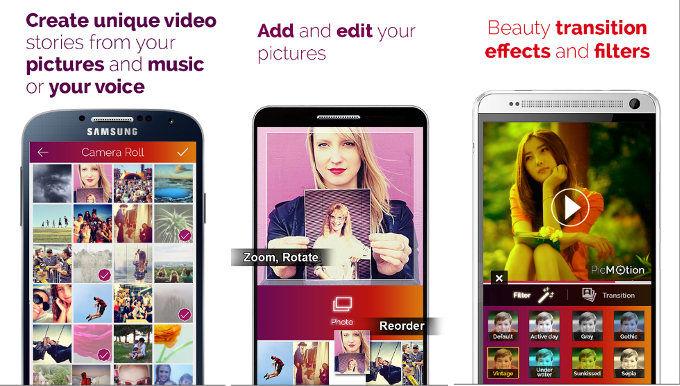 PicMotion - best app like Flipagram