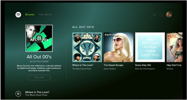 Spotify - best apps for Android TV
