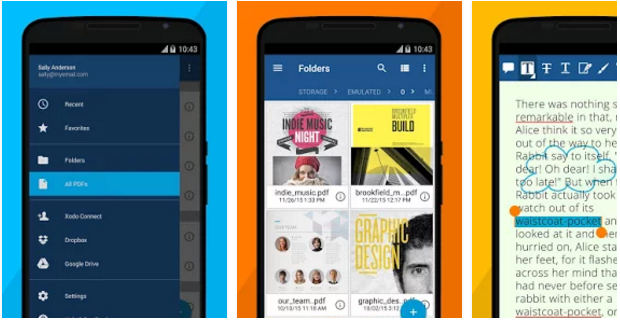 Xodo pdf reader for Android