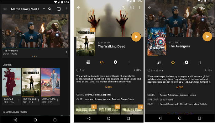 plex app for Android TV box